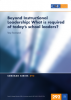 Beyond Instructional Leadership: What is required of today's school leaders?